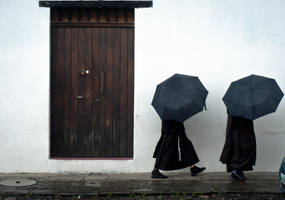 secretive nuns by SantiBilly