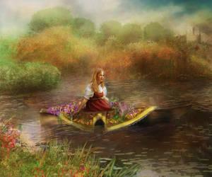 The Lady of Shalott by InertiaRose