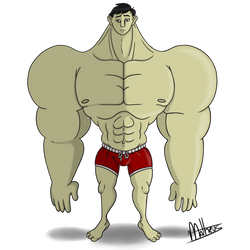 Beefy Dude by Matheus019