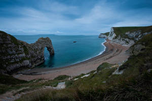 Durdle Door I by cardinal