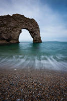 Durdle Door II by cardinal