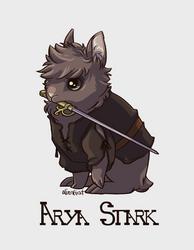 bunday - arya stark by alienfirst