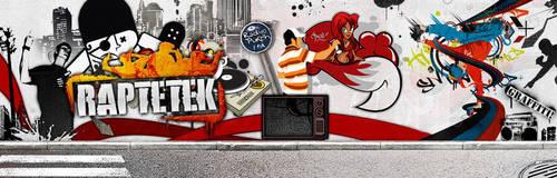 Raptetek.Com New Banner by grafimed