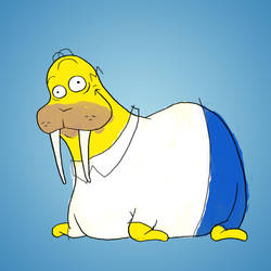 Homer by jeanphilippecote