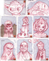 Star Wars Cards 2 by D-Gee