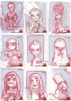 Star Wars Cards 3 by D-Gee