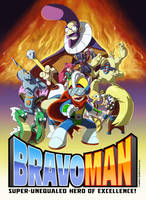 Bravoman!! Web Comic Announced by D-Gee