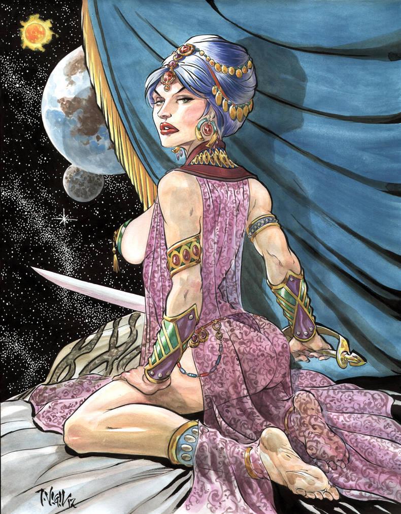 dejah thoris princess of mars by dynapop