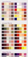 Seasons color PALETTES by DocWendigo