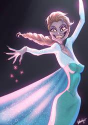Yzma meets Elsa by DocWendigo