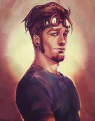 Boos portrait by DocWendigo