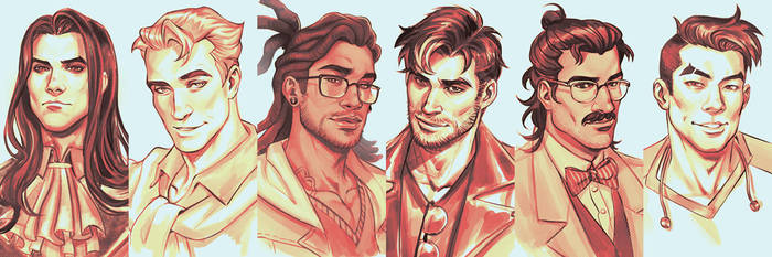 Dream Daddies by DocWendigo