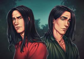[COMM] Luka and Kiernan by DocWendigo