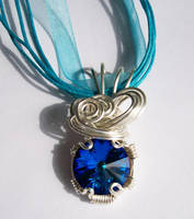 'Watery' pendant by DownToTheWire