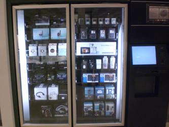 iPod Vending Machine by blairbrefeld