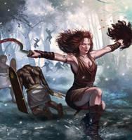 Head Huntress by laclillac