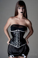 Alter Ego corset by Miss-SelfDestructive
