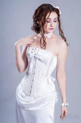 Dovelle corset by Miss-SelfDestructive