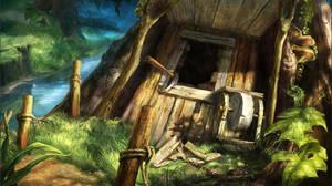 Jungle hut 2 by novtilus