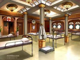 Hospital on Titanic by novtilus