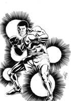 The Boxer by Antonio-Rocha