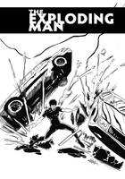 Exploding Man Cover2 by Antonio-Rocha