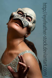 Glamour Skull by eyefeather-stock