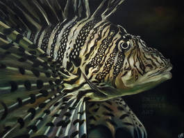 Lion Fish by emilyjhorner