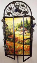 Tuscan Window by Kasia1989