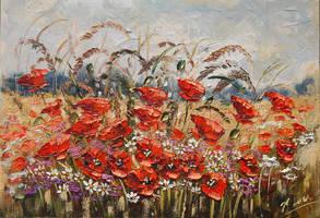 Wildflowers meadow by Kasia1989