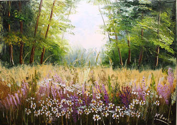 Sprintime in the forest by Kasia1989