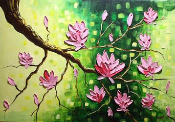 Magnolias by Kasia1989