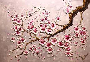 Cherryblossom branch by Kasia1989
