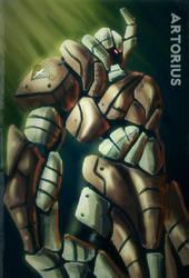 Artorius Knight by nahumreigh
