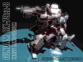 Gundam RX-79ez-8 HAC by nahumreigh