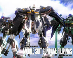 Mobile Suit Gundam: Filipinas by nahumreigh
