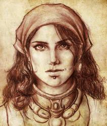 Isabela by trixdraws