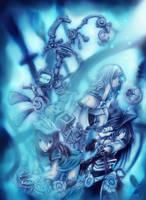 tainted silvery heart by neko-twister