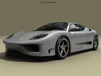 Ferrari 360 Modena by nalhcal