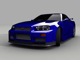 Skyline R34 GT-R by nalhcal