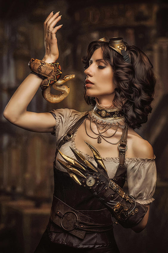 Steampunk.Eva by Allsteam