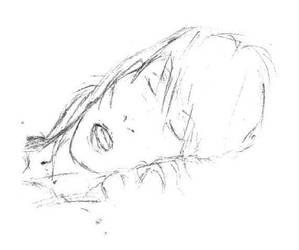 cara dormida by Sadleon