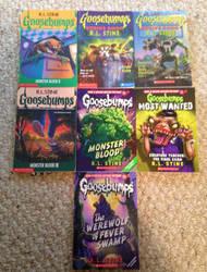Vetor Christmas 2015 2# : Goosebump Books by VetorHuskySamuria