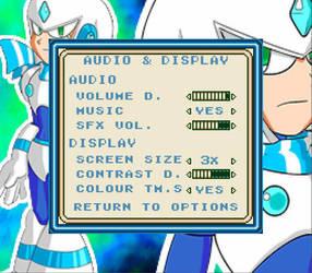 Mega Man Eternal II - Audio and Display Options by DiscreteComputation