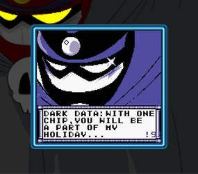 Mega Man Eternal II - Intro (Dark Data) by DiscreteComputation