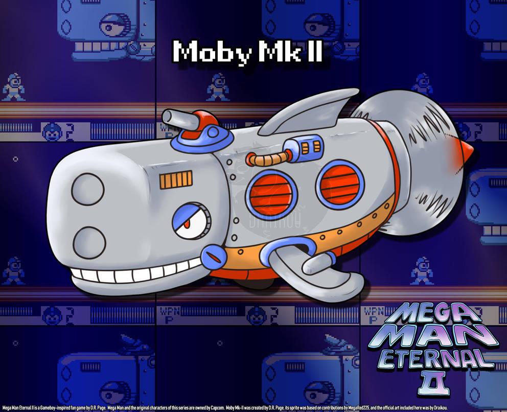 Mega Man Eternal II - Moby Mk II by DiscreteComputation
