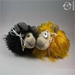 Golden Fleece and Black Aries by wooltoys-ru