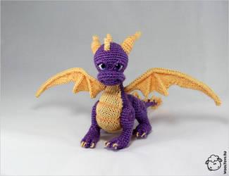 Spyro the Dragon by wooltoys-ru