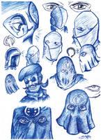 Cobra Commander drawings by Invader-Star-irken