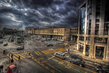 Geneva Main Station by Hamrani